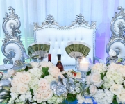 head table at venu