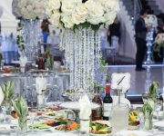table setting at venue