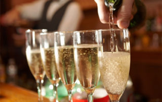 Planning A Wedding Shower - Champagne