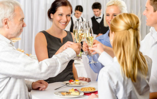 Corporate Event Planning - Happy Guests