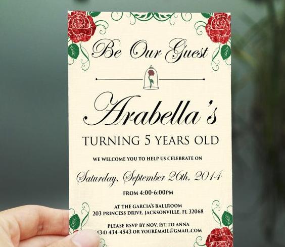 Cincoanera Invite