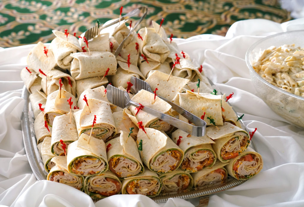 sandwiches - late-night wedding snacks