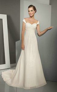 empire waistline - wedding dress styles