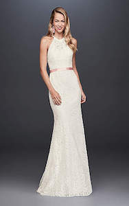 halter neck - wedding dress styles