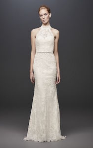 high neck - wedding dress styles