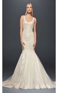 scoop neck - wedding dress styles