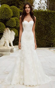 strapless sweetheart - wedding dress styles