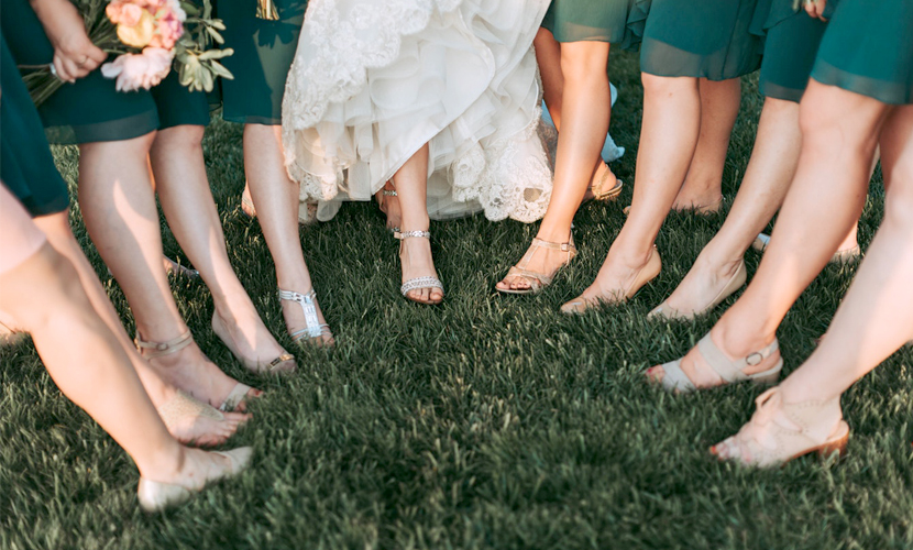 Bridesmaid Etiquette - Bridesmaids Shoes