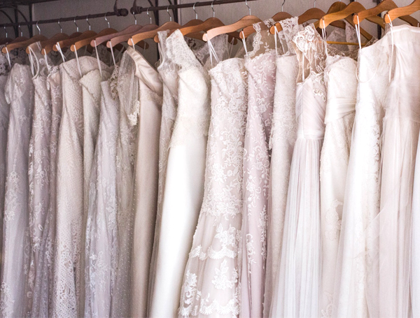 Wedding Dress Preservation - Wedding Dresses Hanging