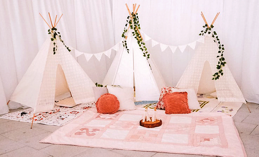 Adults Only Wedding - Kid's Room at Reception