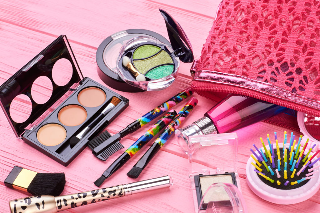 Wedding Day Emergency Kit - Various Types Of Makeup Products