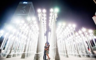 Engagement Photo Shoot Locations In Los Angeles - Urban Light