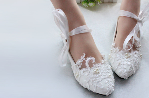 Wedding Shoes - Bridal Flats