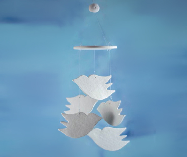 Best Wedding Shower Favors - Mini Wind Chimes