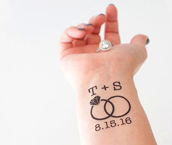 Best Wedding Shower Favors - Temporary Tattoos
