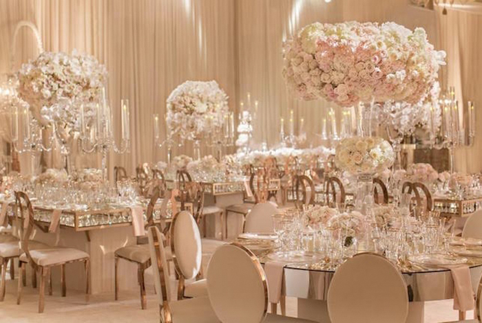 Quinceanera Themes - Rose Gold Ball