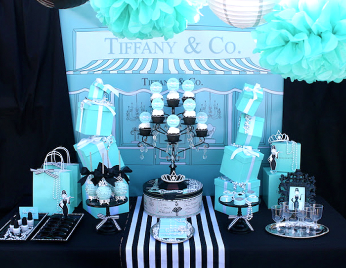 Quinceanera Themes - Tiffany's